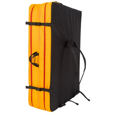 Laspo Crash Pad Black/Yellow - Crashpad Escalada La Sportiva