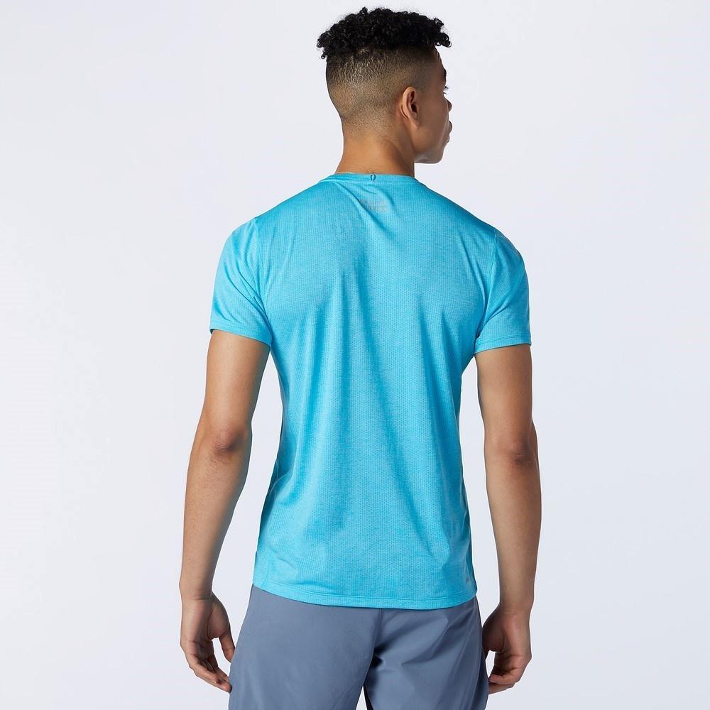 Impact Run Ss Hombre - Camiseta  Trail Running New Balance