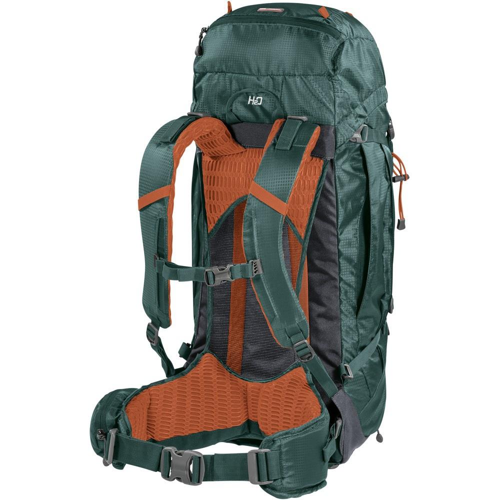 Finisterre 38 Green/Orange - Mochila Trekking Ferrino