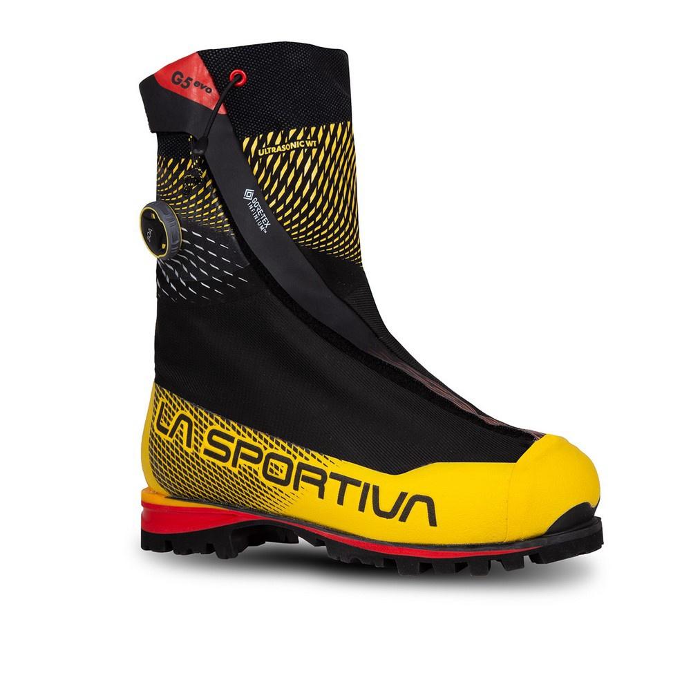 G5 Evo Black/Yellow - Botas Alpinismo La Sportiva