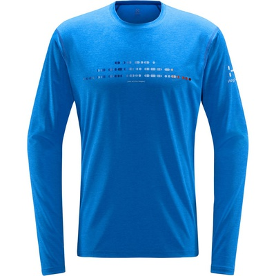 Ridge Ls Hombre - Camiseta Trail Running Haglofs