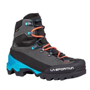 Aequilibrium LT Goretex Black/Hibiscus Mujer - Botas Alpinismo La Sportiva