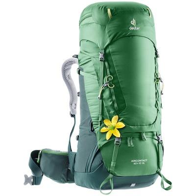 Aircontact 60 + 10 SL Mujer - Mochila 70 litros Verde Trekking Deuter