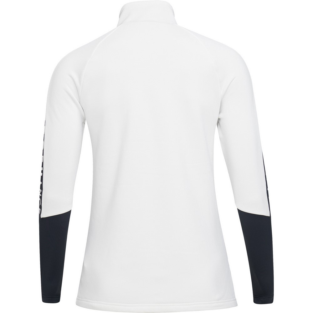 Rider Zip Offwhite Mujer - Forro Esquí Peak Performance