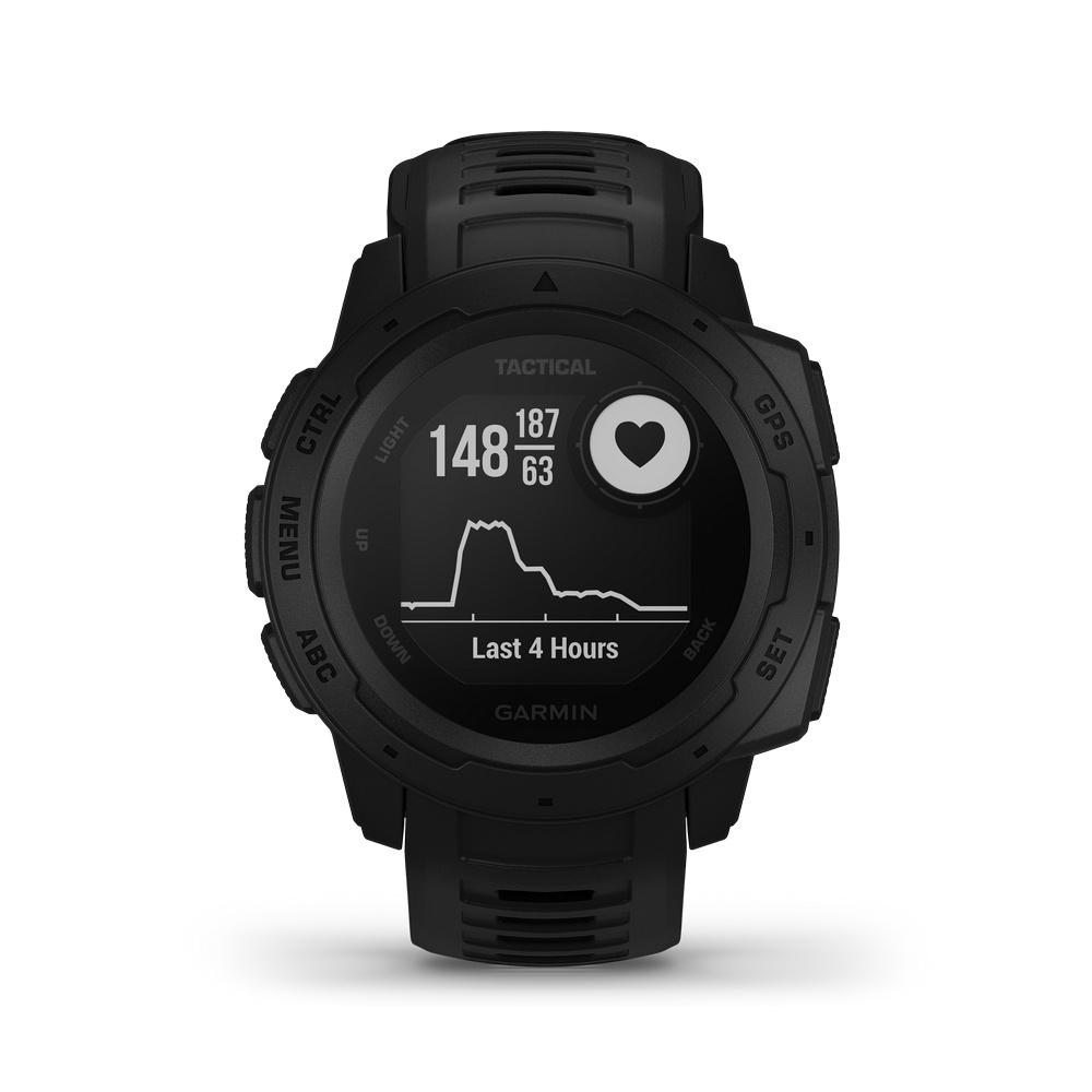 Instinct Tactical - Reloj Deportivo GPS Trailrunning Garmin