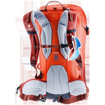 Freerider Pro 34+ - Mochila 34 litros Naranja Nieve Deuter
