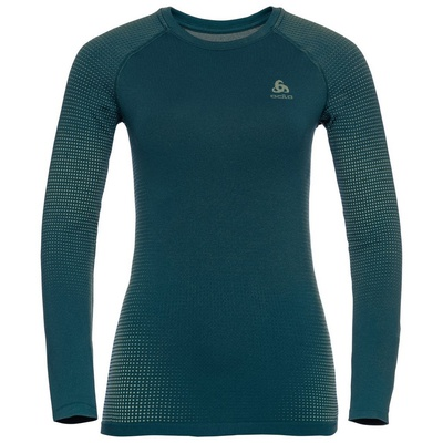 Performance Warm Eco Bl Top Crew Neck Mujer - Camiseta Esquí Odlo