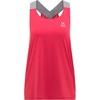 Ridge Tank Mujer - Camiseta Trail Running Haglofs