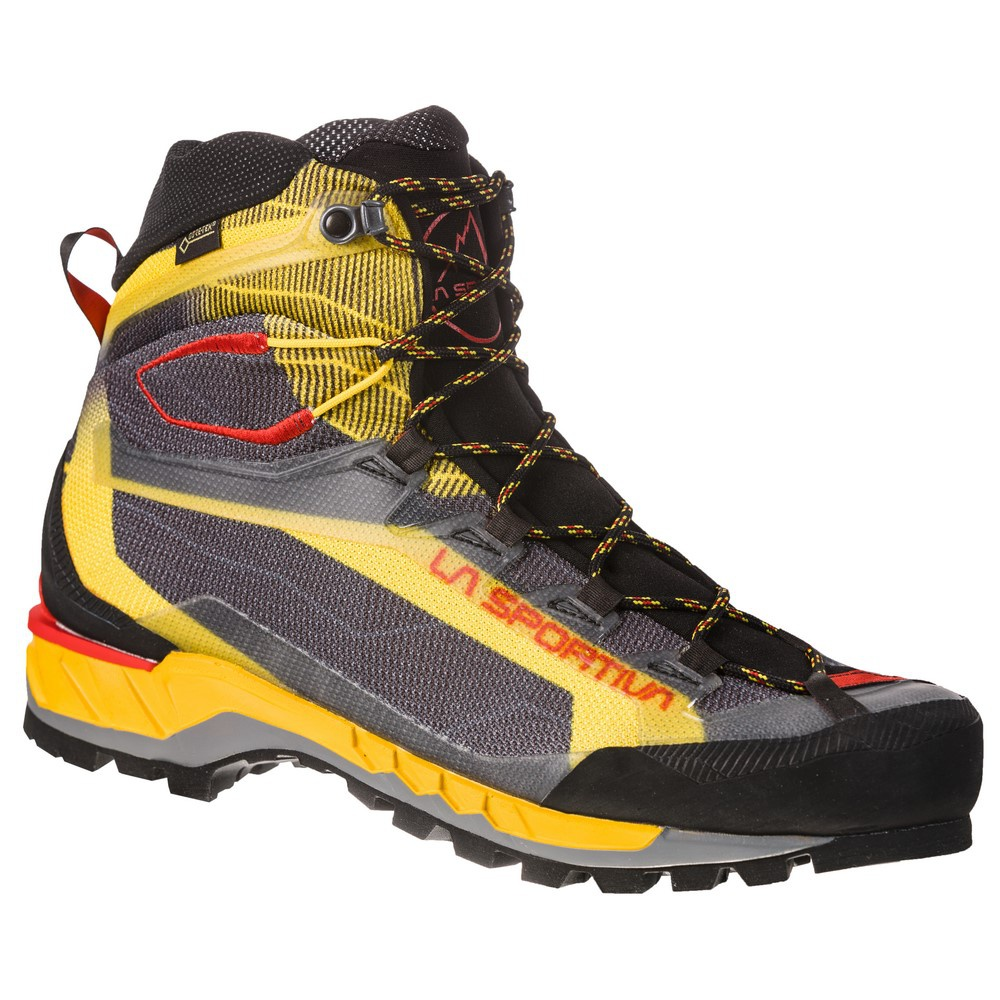 Trango Tech Goretex Black/Yellow Hombre - Bota Alpinismo La Sportiva