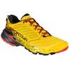 Akasha Yellow/Red Hombre - Zapatilla Trail Running La Sportiva