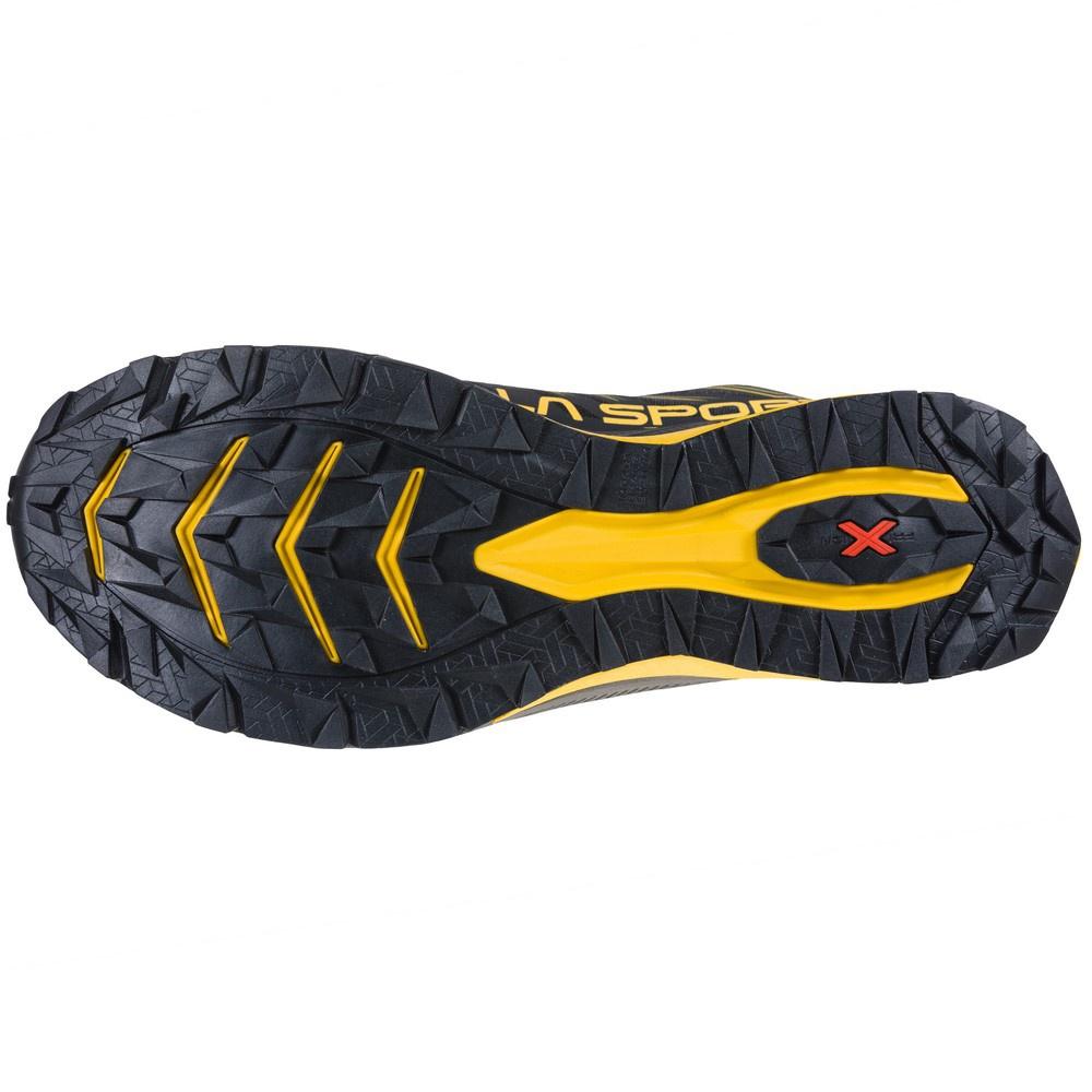 Jackal Goretex Black/Yellow Hombre - Zapatillas Trail Running La Sportiva