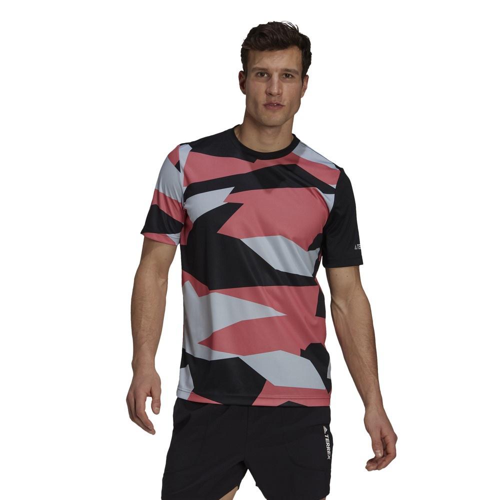 Aop Gfx Hombre - Camiseta Trail Running Adidas Terrex