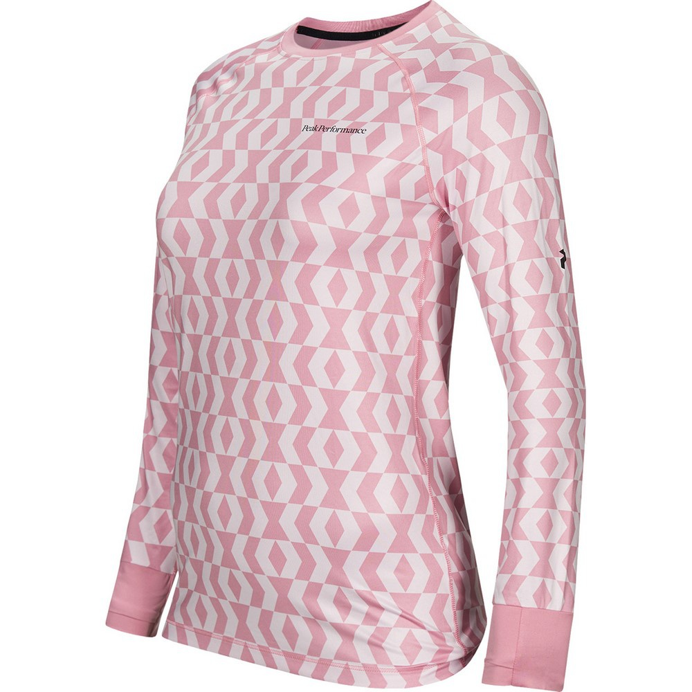 Spirit Printed Crew Pattern Mujer - Camiseta Esquí Peak Performance