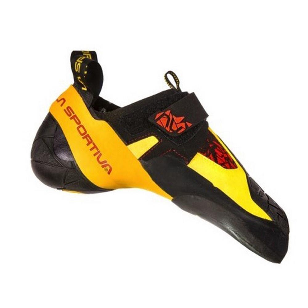 Skwama Black/Yellow Hombre - Pie de gato Escalada La Sportiva