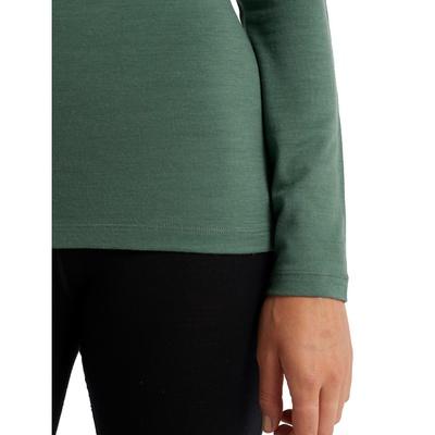 200 Oasis LS Half Zip Mujer - Camiseta Nieve Icebreaker