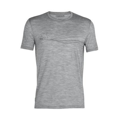 Spector SS Crewe Cadence Paths Hombre - Camiseta Trekking Icebreaker