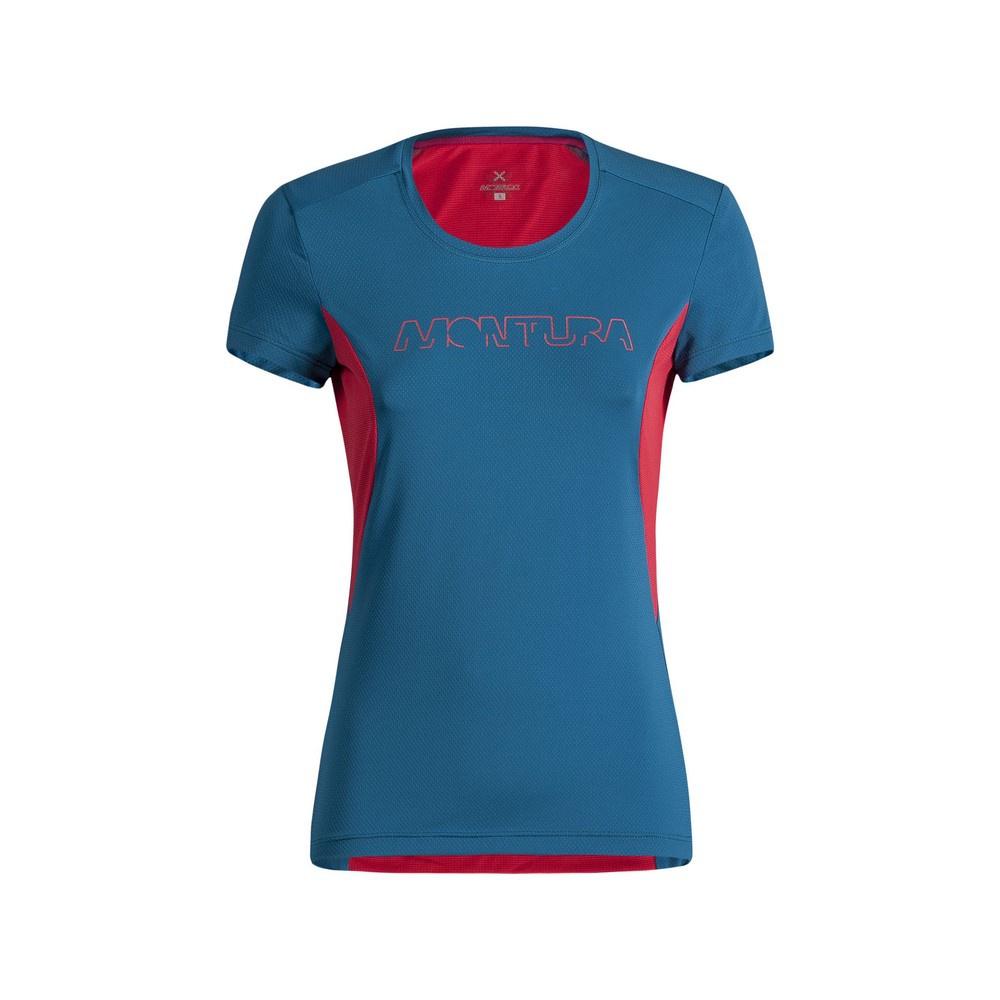 Run Logo Mujer - Camiseta Trail Running Montura