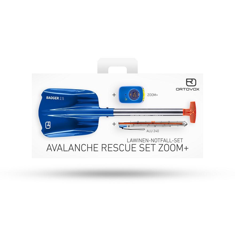 Avalanche Rescue Set Zoom+ Arva, Pala y Sonda - Nieve Seguridad Ortovox