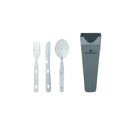 Set Di 3 Cutlery Steel Inox - Accesorios Cocina Ferrino
