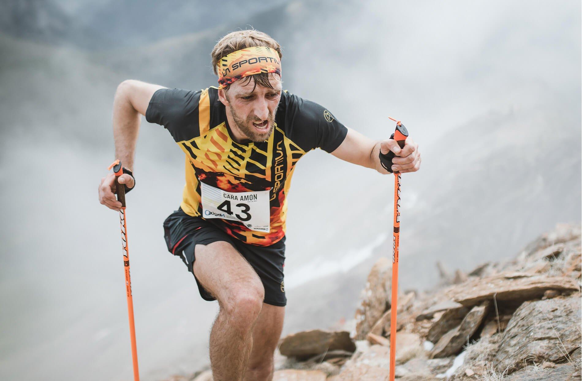 Trail running competicion