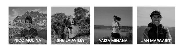 Trail running competicion atletas 2