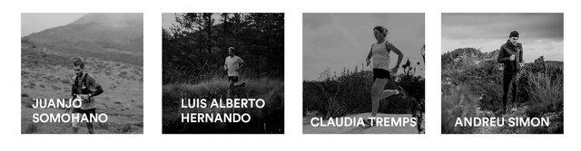 Trail running competicion atletas 4