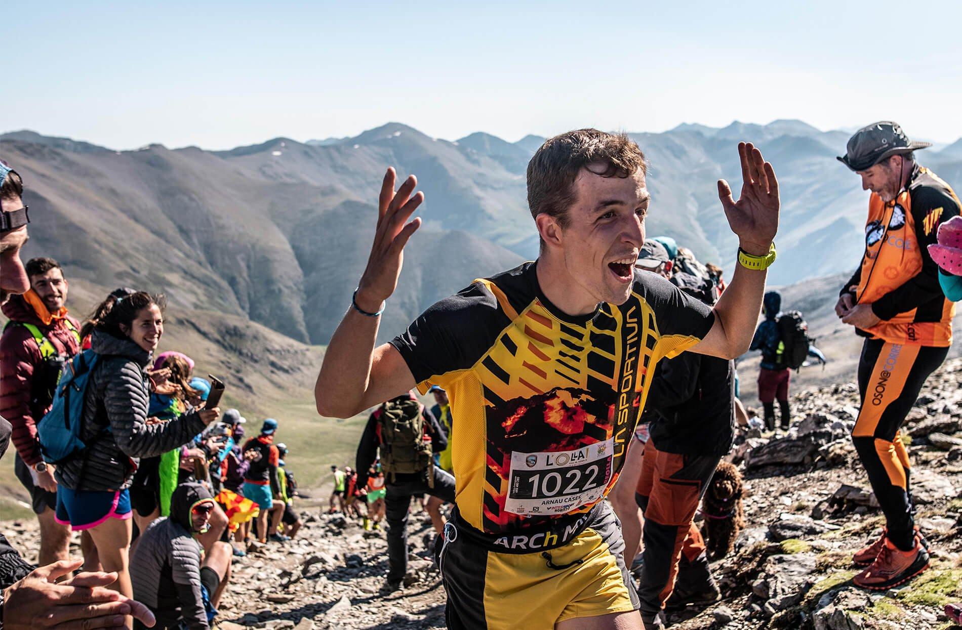 Trail Running competicion meta