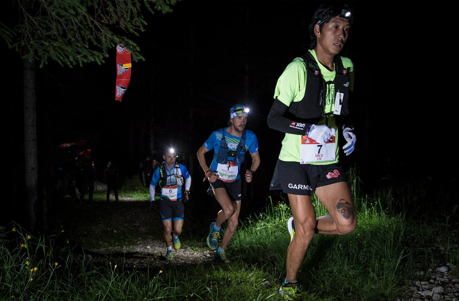 Trail running competicion ultra