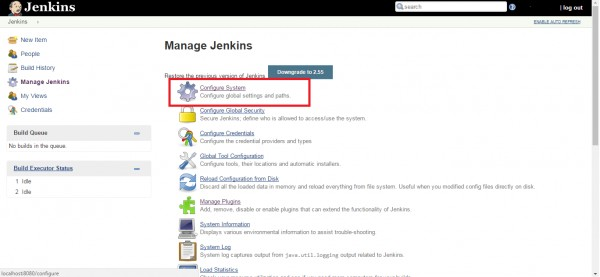 MSBuild option not found in Jenkins Configuration page - Testing AMA