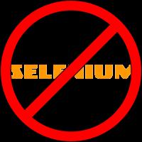 Selenium Don'ts