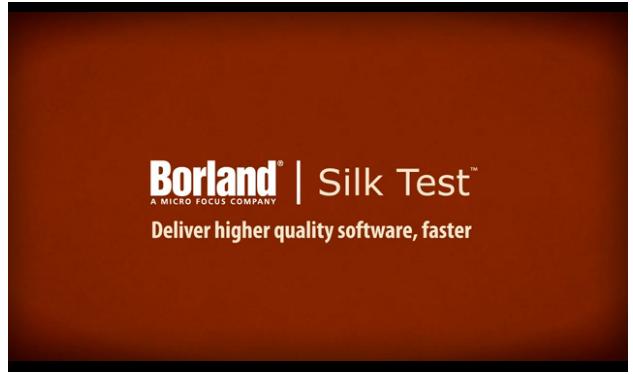 Silk Test Tool