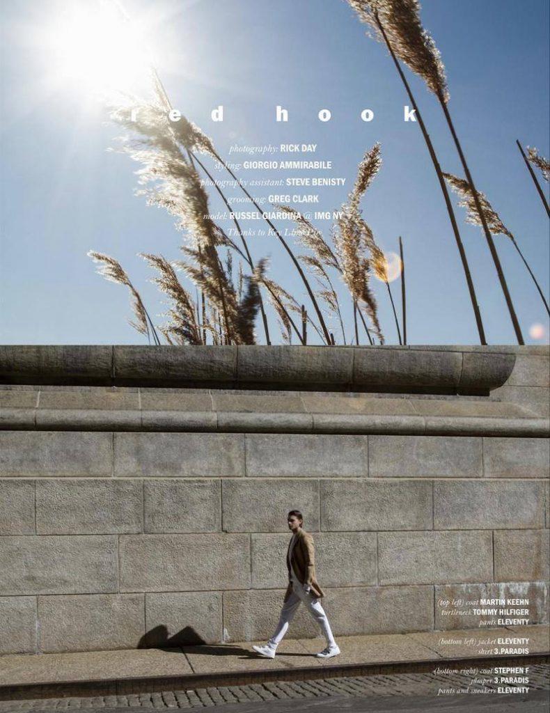 Stephen F in Reflex Homme Magazine