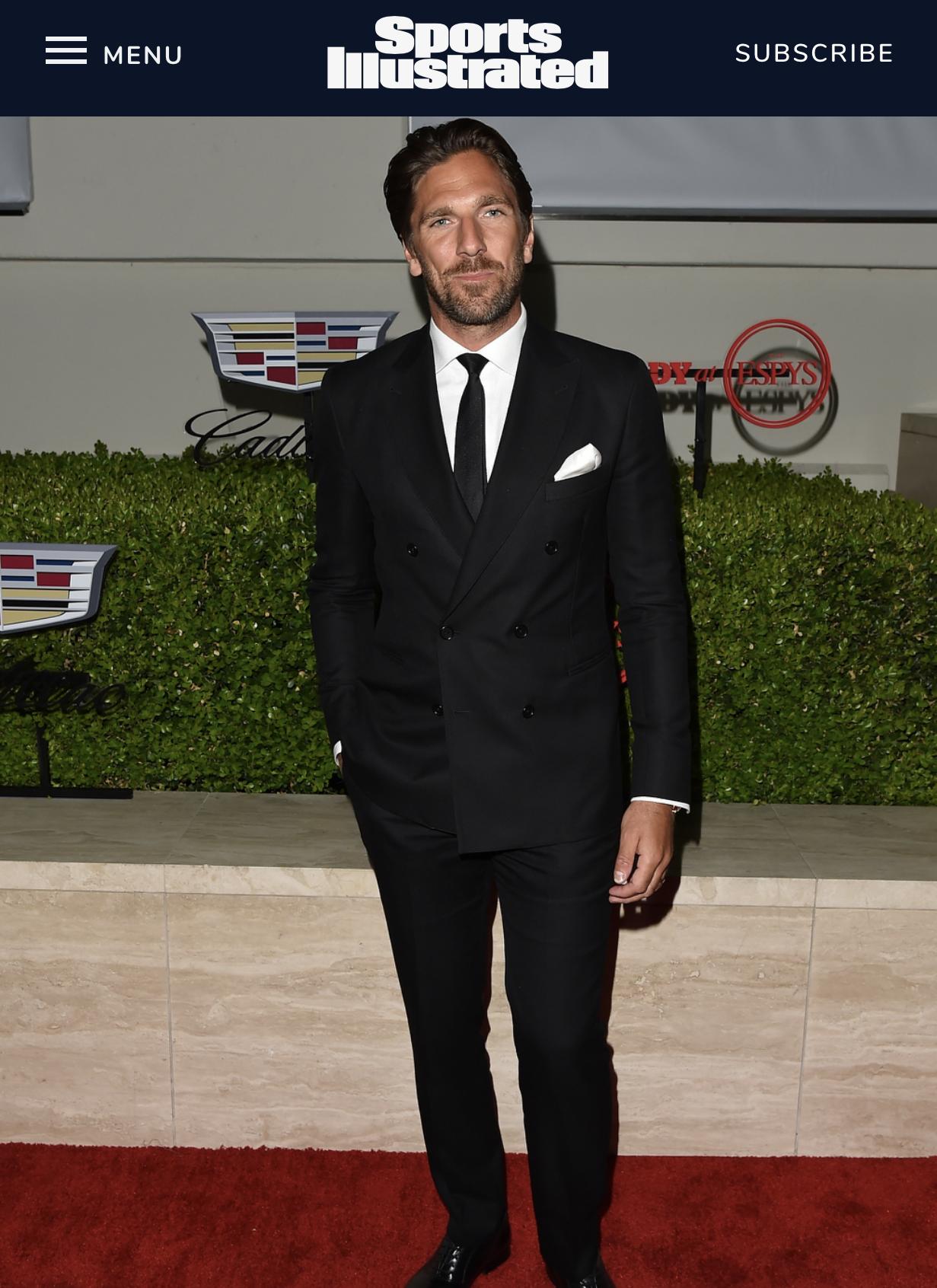 Henrik Lundqvist 6 On Sports Illustrated Fashionable 50 List