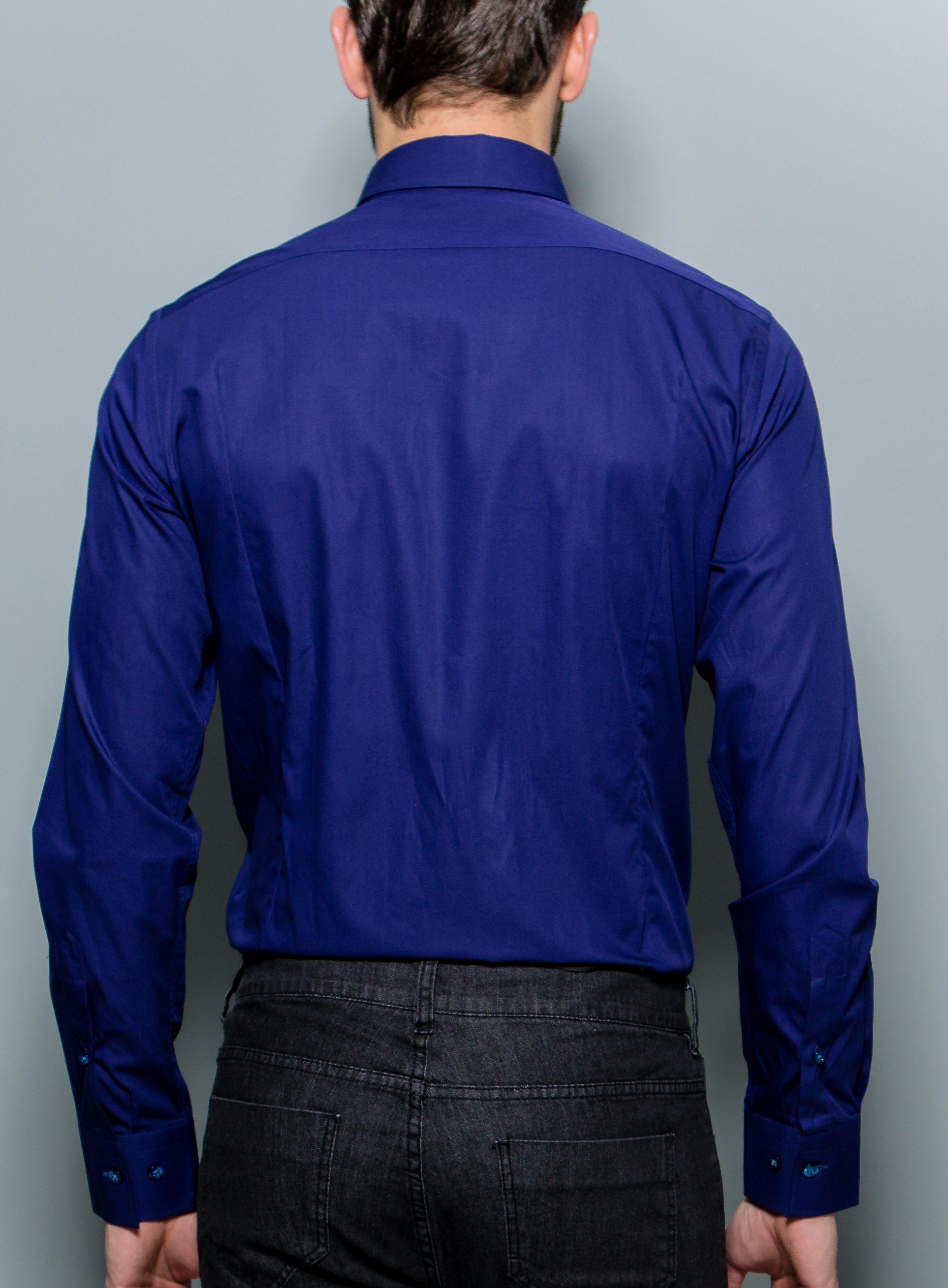 Uma Shirt Royal Blue Stephen F