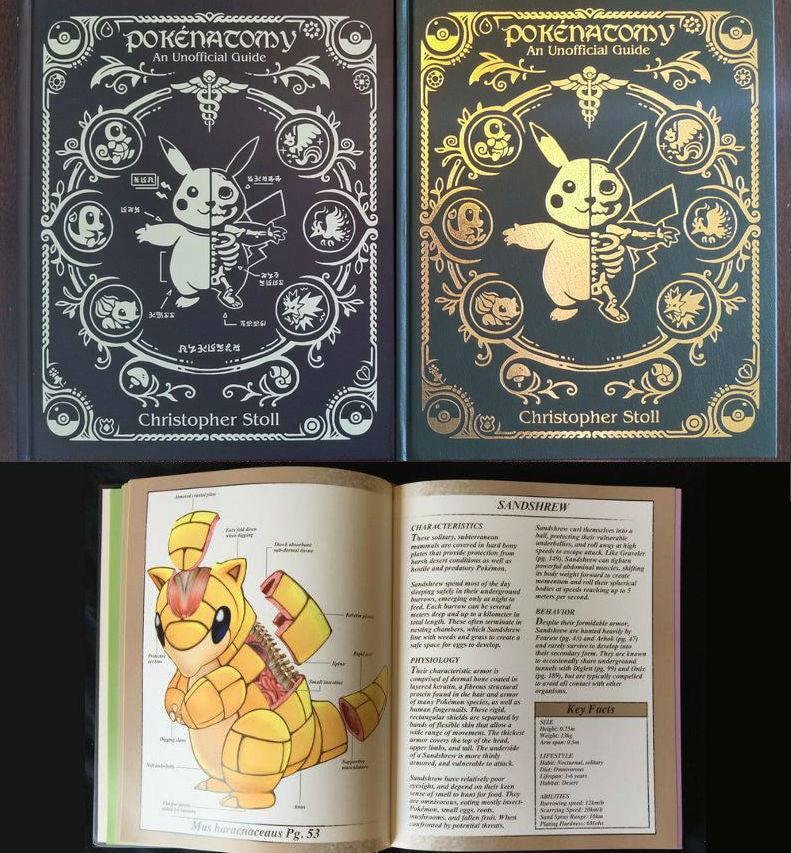 Pokemon Anatomy Book