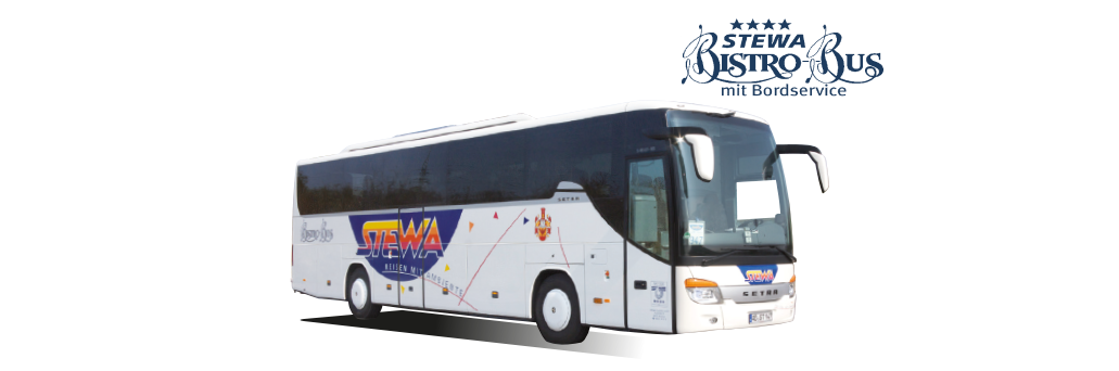 Vier Sterne kleiner STEWA-Bistro-Bus