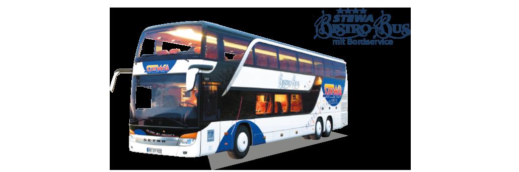 Vier Sterne STEWA-Bistro-Bus