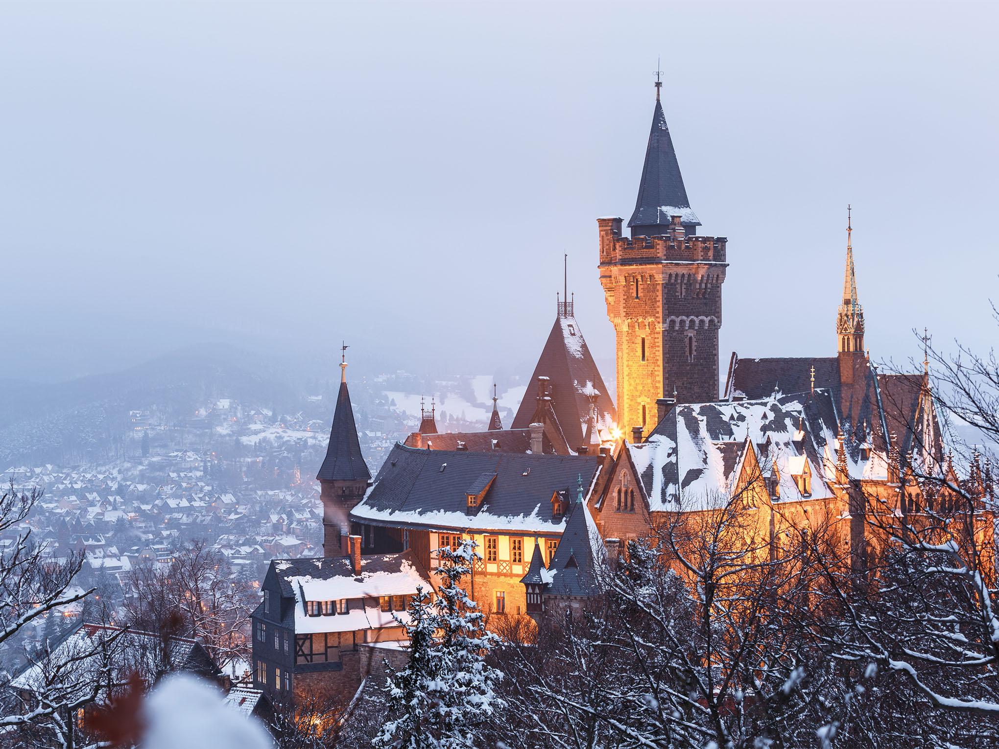 Wernigerode, Burg