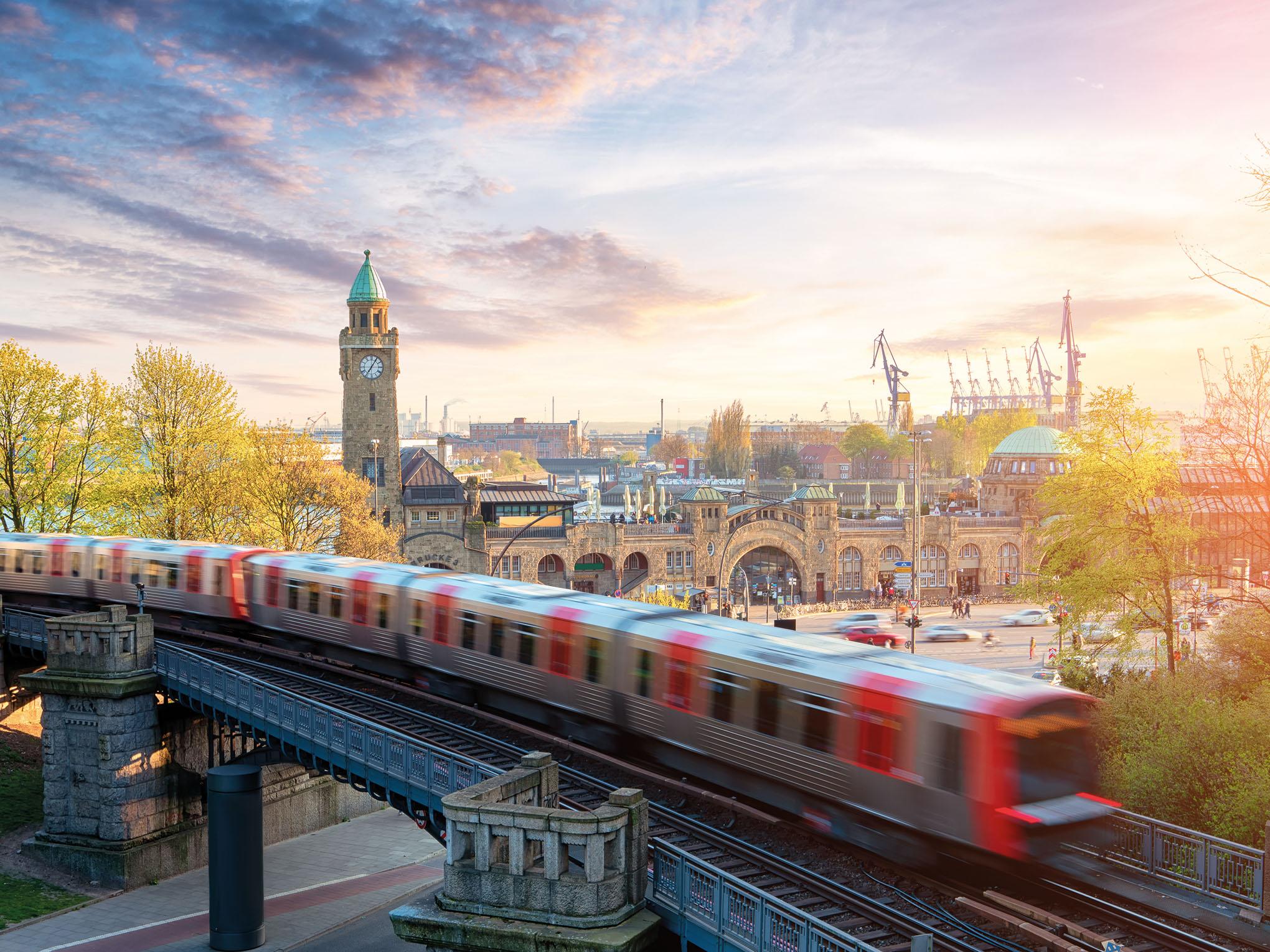 Hamburg, Landungsbrücken