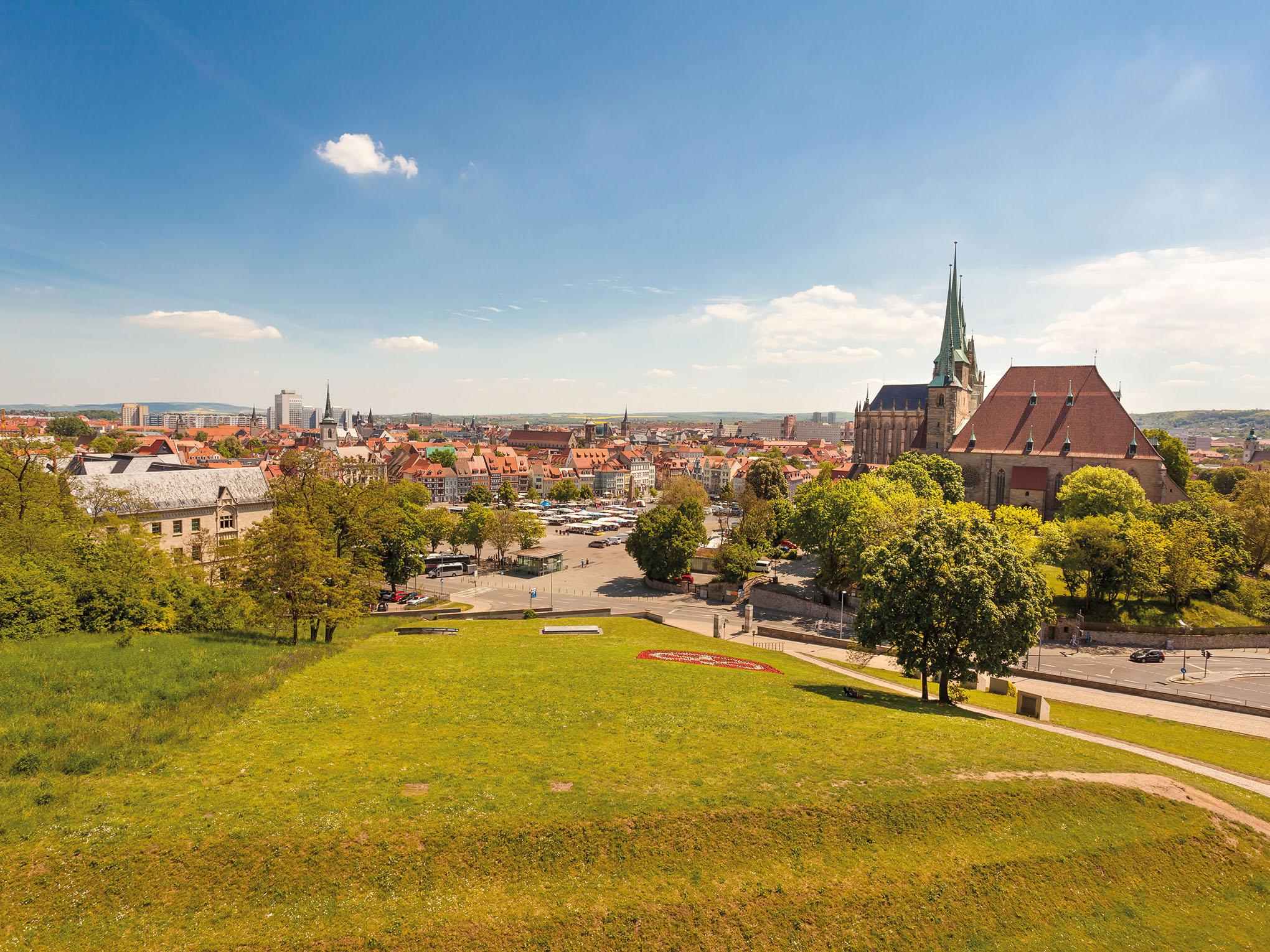 Bundesgartenschau BUGA 2021 in Erfurt
