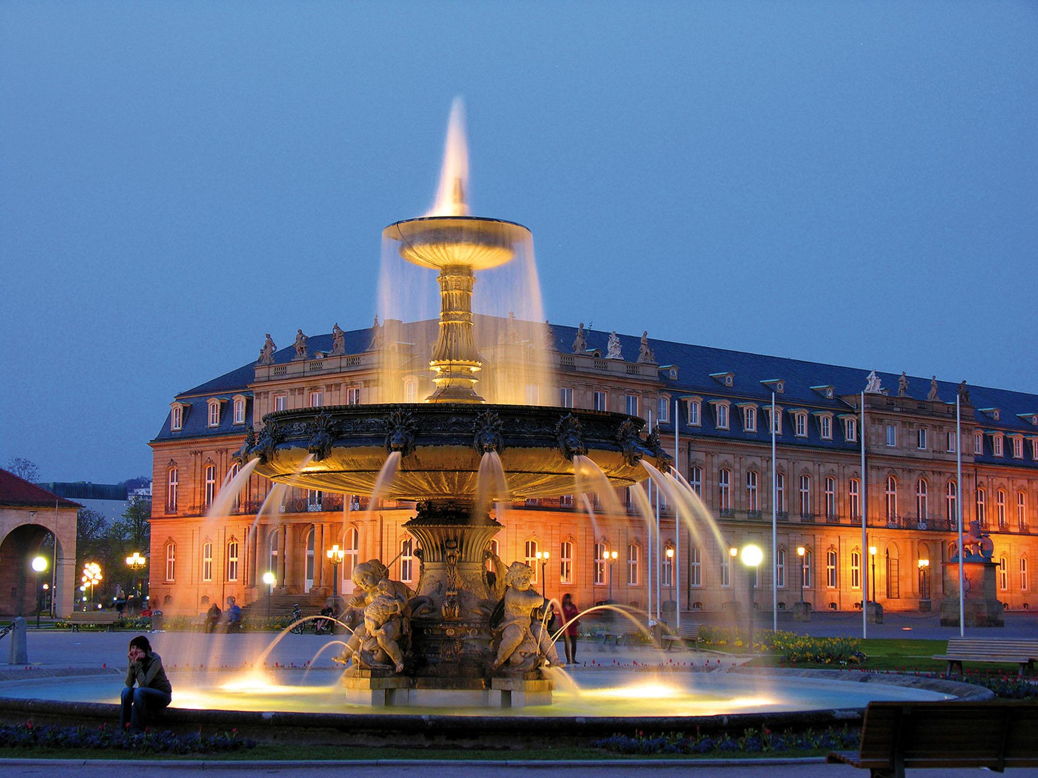 Schlossbrunnen Stuttgart