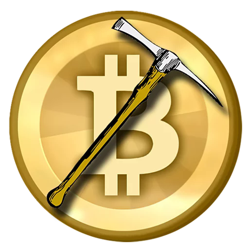 Sticker from bitcoin pack