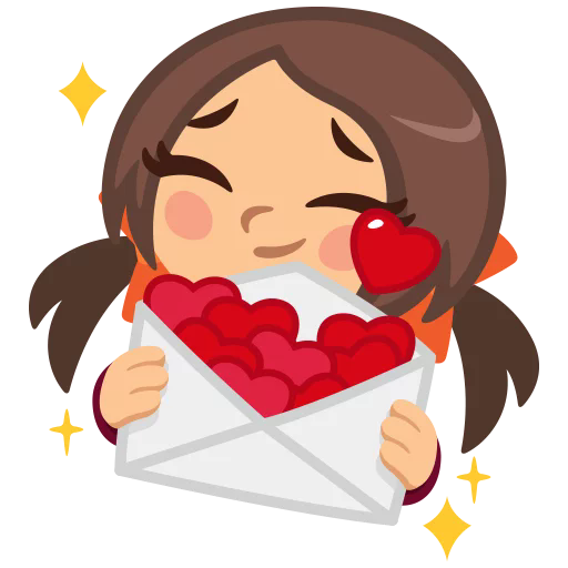 Sticker from inlove pack
