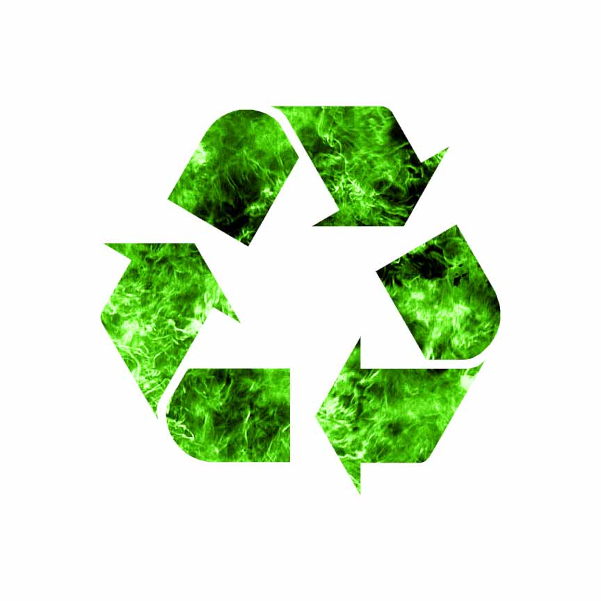 Recycling Symbol Recycle Decal Sticker Choose Pattern Size 567 Ebay
