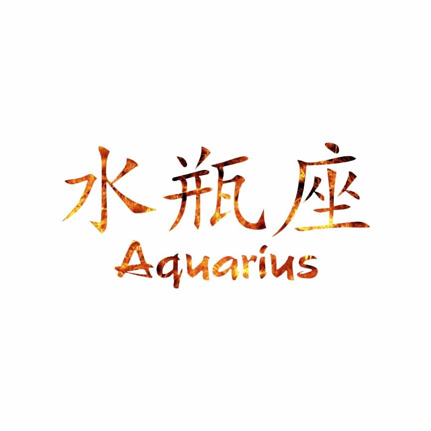 Chinese Symbol For Aquarius