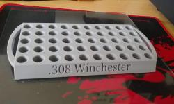 Reloading Shell Holder Tray 8-holes 3D Printed