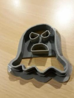 4in longest point Ghost Cookie Cutter 3d Printed