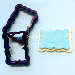 3D Printed 046 Fondant Cutter Candy with Wrapper    Cookie Cutter