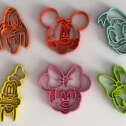 4 Mouse 3D Printed Cookie Cutter #P6056