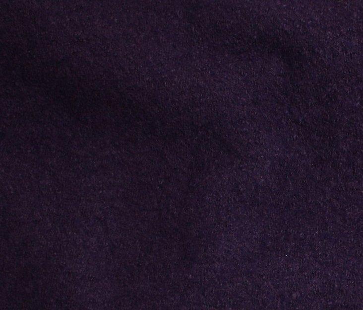 Boiled Wool/Viscose – Purple